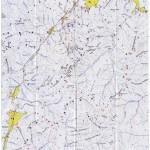 Harta turistica a Muntilor Piatra Mare 1 (Carpatii Orientali)
