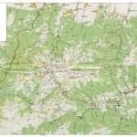 Harta turistica a muntilor Retezat 7