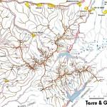 Harta turistica a muntilor Tarcu 1