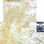 Harta Muntilor Trascau- Zona Nordica