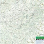 Harta Muntilor Trascau- Zona Sudica