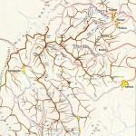 Harta turistica a Muntilor Vrancei 2
