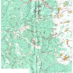 Harta turistica a Muntilor Vrancei 1
