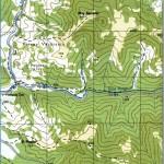Harta Muntilor Bihor 1 b (Carpatii Occidentali)