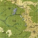 Harta muntilor Bihor 2 b (Carpatii Occidentali)