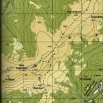 Harta Muntilor Bihor 3 a (Carpatii Occidentali)