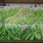 Harta turistica a Muntilor Bucegi 7