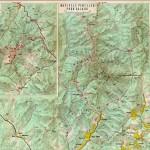 Harta turistica a Muntilor Buzaului