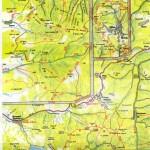 Harta turistica a Muntilor Calimani 2