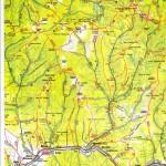 Harta turistica a Muntilor Calimani 3