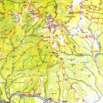 Harta turistica a Muntilor Calimani 4