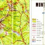 Harta Turistica a Muntilor Capatanii - Buila(Carpatii Meridionali) 3