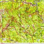 Harta Turistica a Muntilor Capatanii - Buila(Carpatii Meridionali) 2