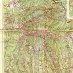 Harta Turistica a Muntilor Capatanii - Buila(Carpatii Meridionali) 1