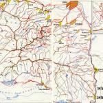 Harta Turistica a Muntilor Cindrel (Carpatii Meridionali) 3