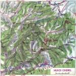Harta Turistica a Muntilor Cindrel (Carpatii Meridionali)  1
