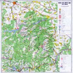 Harta Turistica a regiunii Muntele Mare-Gilau (Carpatii Occidentali)