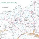 Harta turistica a Muntilor Maramures 1