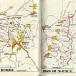 Harta turistica a Muntilor Intorsurii 1