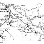 Harta manastirilor din Maramures