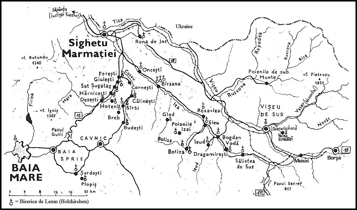 Harta Manastirilor Din Maramures Profu De Geogra