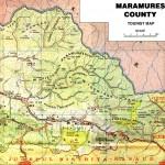 Harta turistica a Muntilor Maramures 3