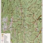 Harta turistica a Muntilor Nemira 1