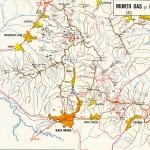 Harta turistica a Muntilor Oas 2