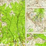 Harta Turistica Muntilor Parang (Carpatii Meridionali) 2