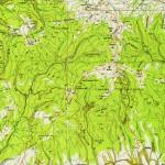 Harta Turistica Muntilor Parang (Carpatii Meridionali) 1