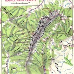 Harta turistica a Muntilor Piatra Craiului 2