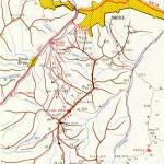 Harta turistica a Muntilor Piatra Mare 2 (Carpatii Orientali)
