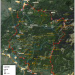 Harta turistica a muntilor Sureanu 5