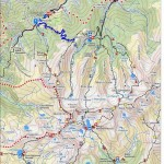 Harta turistica a muntilor Retezat 8