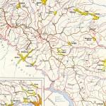 Harta turistica a Muntilor Stanisoarei