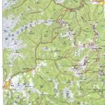 Harta turistica a Muntilor Suhard 3