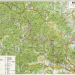 Harta turistica a Muntilor Suhard 2