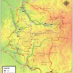 Harta turistica a muntilor Sureanu 2