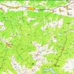 Harta turistica a muntilor Tarcu 5