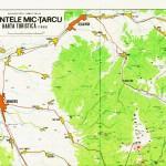 Harta turistica a muntilor Tarcu 4