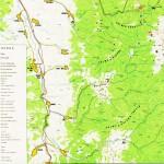Harta turistica a muntilor Tarcu 3