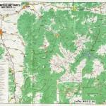 Harta turistica a muntilor Tarcu 2