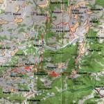 Harta Muntilor Trascau 2