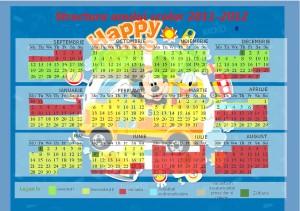 Calendar Scolar 2011-2012