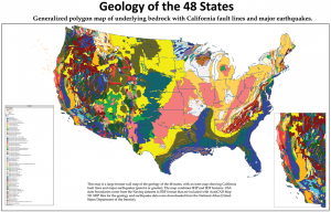 Harta geologica a Sua