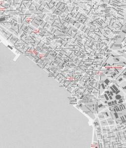 Harta orasului Salonic 3