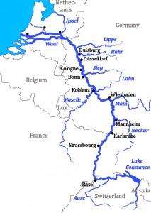 Harta Bazinului Rhin
