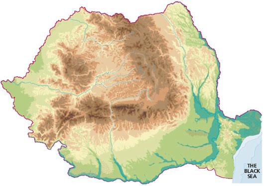 Harta Geografica A Romaniei Profu De Geogra