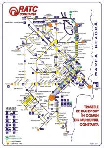 Reteaua de transport public Constanta