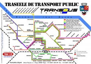 Reteaua de transport public Buzau